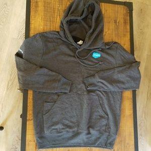 Threadfast gray hoodie